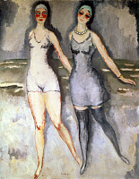 0259984 © Granger - Historical Picture ArchiveVAN DONGEN: SISTERS, c1920.   'The Picardo Sisters in Deauville,' Painting, Kees van Dongen, c1920. Full credit: Tal - Rue des Archives / Granger, NYC -- All rights reserved.