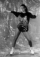 0077029 © Granger - Historical Picture ArchiveKATARINA WITT (1965- ).   German figure skater. Photographed in 1987.