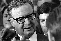 0079738 © Granger - Historical Picture ArchiveSALVADOR ALLENDE (1908-1973).   Chilean politician. Photographed in 1970.