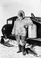 0087348 © Granger - Historical Picture ArchiveALFRED LOTHAR WEGENER   (1880-1930). German geophysicist and meteorologist. Photographed during his final expedition to Greenland, November 1930.