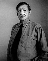 0087756 © Granger - Historical Picture ArchiveWYSTAN HUGH AUDEN   (1907-1973). English poet. Photographed by Horst Tappe, 1965. Full credit: Tappe - ullstein bild / Granger, NYC -- All Rights Reserved.