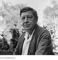 0087757 © Granger - Historical Picture ArchiveWYSTAN HUGH AUDEN   (1907-1973). English poet. Photographed in his garden at his house in Kirchstetten, Austria, 1959. Full credit: Imagno - ullstein bild / Granger, NYC -- All rig