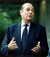 0088094 © Granger - Historical Picture ArchiveJACQUES CHIRAC (1932- ).   President of France 1995-2007. Photographed April 1997. Full credit: Fotoagentur imo - ullstein bild / Granger, NYC -- All rights reserved.