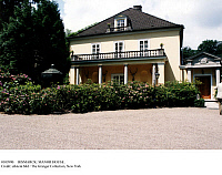 0103990 © Granger - Historical Picture ArchiveBISMARCK: MANOR HOUSE.   Manor house of German Chancellor Otto von Bismarck (1815-1898) at Friedrichsruh, Germany. Photographed 1998.