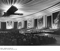 0104663 © Granger - Historical Picture ArchiveGERMANY: CONCERT, 1937.   Concert for the opening of the exhibition hall on Kaiserdamm, Berlin. Photographed 30 April 1937.