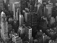 0126248 © Granger - Historical Picture ArchiveNEW YORK: MANHATTAN, 1970.   Aerial view of Manhattan, New York City. Photographed in 1970. Full credit: ullstein bild - Stuck(L) / Granger, NYC -- All rights reserved.