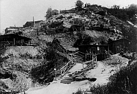 0127991 © Granger - Historical Picture ArchiveWORLD WAR I.   Theatre of war, western front 1915, Lorraine/Argonne: Quarters of a reserve regiment summer 1915.