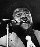 0129903 © Granger - Historical Picture ArchiveFATS DOMINO (1928- ).   Antoine Dominique Domino. American musician. Domino performing in 1973. Full credit: Borchert - ullstein bild / Granger, NYC -- All rights reserved.