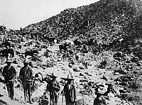 0132261 © Granger - Historical Picture ArchiveMEXICAN REVOLUTION, 1913.   Mexican government soldiers guarding a pass in the Sierra Madre Oriental. Photograph, 1913.