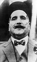 0132551 © Granger - Historical Picture ArchiveMUHAMMAD IQBAL (1877-1938).   Muslim Indian poet, philosopher and political leader. Photograph, 1931.