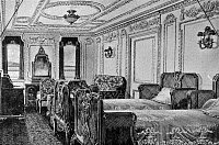 0132712 © Granger - Historical Picture ArchiveTITANIC: PARLOR SUITE, 1912.   Interior of a first class suite on the 'Titanic.' Illustration, 1912.