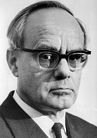 0168875 © Granger - Historical Picture ArchiveKARL RAHNER (1904-1984).   German Jesuit and theologian. Photograph, 1967. Full credit: Karoly Forgacs - ullstein bild / Granger, NYC -- All rights reserved.