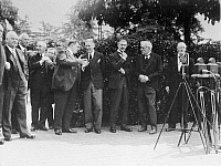 0169150 © Granger - Historical Picture ArchiveLAUSANNE CONFERENCE, 1932.   Photo shoot at the beginning of the conference. From left to right: the French Prime Minister Edouard Herriot, German Chancellor Franz von Papen, British Foreign Secretary Sir John Simon, and British Prime Minister Ramsay Macdonald. Photograph by Sennecke, 16.06.1932.