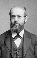 0175627 © Granger - Historical Picture ArchiveFERDINAND GEORG FROBENIUS   (1849-1917). German mathematician. Photographed by Julius Cornelius Schaarwächter, c1900.