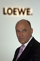 0179003 © Granger - Historical Picture ArchiveLOEHRER.   Loehrer, Frieder C. - CEO of the Loewe AG, Germany - 28.08.2008. Full credit: ullstein bild / Granger, NYC -- All Rights Reserved.