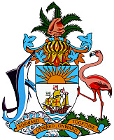 0186317 © Granger - Historical Picture ArchiveBAHAMAS: COAT OF ARMS.   The Coat of Arms of the Commonwealth of the Bahamas. Full credit: Probst - ullstein bild / Granger, NYC -- All Rights Reserved.