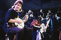 0189966 © Granger - Historical Picture ArchiveBELA FLECK AND FLECKTONES.   Bela Fleck and the Flecktones - Band, Bluegrass, Jazz, USA - performing - 1993 Editorial-use-only!, ullstein bild ID 00964180.