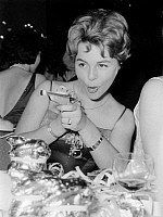 0191790 © Granger - Historical Picture ArchiveCONNY FROBOESS.   Conny Froboess, *28.10.1943- Actress, Singer, Germany at the ball Hunters Treibjagd , Bayerischer Hof, Munich - 04.02.1961, ullstein bild ID 00978755.