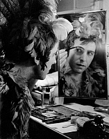 0192692 © Granger - Historical Picture ArchiveDOMGRAF FASSBAENDER.   Domgraf-Fassbaender *19.02.1897-13.02.1978+ Opera singer, Germany - getting ready as Papageno in 'Die Zauberfloete' in the State Opera Berlin - Photographer: Max Ehlert - Published by: 'Die Dame' 01/1937 Vintage property of ullstein bild, ullstein bild ID 00724778.