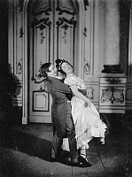 0193474 © Granger - Historical Picture ArchiveELSE BERNA ADLER AND HERMANN FEINER.   Else Adler and Hermann Feiner in the operetta The two Husars by Leon Jessel. Berlin, Theater des Westens 1913, ullstein bild ID 00236246.