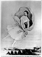 0194609 © Granger - Historical Picture ArchiveFANNY CERRITO.   Fanny CERRITO, *1817-1909+, Italian dancer - Engraving c1845, published in Italian magazine Civitta 1941 01028793.