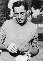 0194639 © Granger - Historical Picture ArchiveFAUSTO COPPI.   Coppi, Fausto *15.09.1919-02.01.1960+ Racing cyclist, Italy - 1958 01069013.