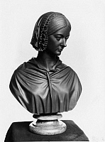 0195223 © Granger - Historical Picture ArchiveFLORENCE NIGHTINGALE.   Nightingale, Florence - Nurse, Writer, UK - Bust - Artist: Sir John Steell - 1862 01082868.