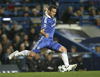 0195406 © Granger - Historical Picture ArchiveFRANK LAMPARD.   Lampard, Frank - Football, Midfielder, FC Chelsea, UK - in action on the ball - 25.02.2009 .