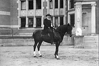 0198433 © Granger - Historical Picture ArchiveGUIDO FUERST VON HENCKEL VON DONNERSMARCK.   Henckel von Donnersmarck, Guido Fuerst von *1830-1916+ Business man, Germany on his horse - Photographer: Rudolph Duehrkoop - around 1910 Vintage property of ullstein bild, ullstein bild ID 00282293.