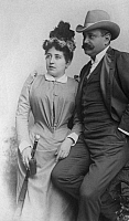 0202625 © Granger - Historical Picture ArchiveJOSE FERENCZY.   Ferenczy, Jose - Opera singer, Stage director, Hungary nee: Jozsef Ferenczy *1852-1908+ with his wife - 1902 Vintage property of ullstein bild 01030623.