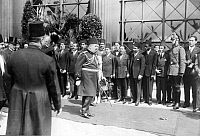 0203716 © Granger - Historical Picture ArchiveKING OF EGYPT FUAD I.   Fuad I, King of Egypt (*26.03.1868-28.04.1936+) during his state visit in Berlin - 10.06.1929 - Photographer: Herbert Hoffmann - Vintage property of ullstein bild, ullstein bild ID 00068406.
