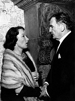 0211650 © Granger - Historical Picture ArchiveRUDOLF FORSTER.   Forster, Rudolf *30.10.1884-25.10.1968+ Actor, Austria with the actress Brigitte Horney - 1958 01077695.