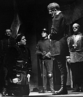 0211662 © Granger - Historical Picture ArchiveRUDOLF FORSTER.   Forster, Rudolf - Actor, Austria *30.10.1884-25. 10.1968+ (second right) as Richard II. in the play with the same name by William Shakespeare and actor Paul Dahlke as Henry Bolingbroke, Deutsches Theater, Berlin, Direction: Heinz Hilpert - Photographer: Schwer - Published by: 'Das Reich' 29/1940 Vintage property of ullstein bild 01069407.