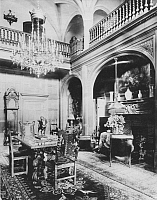 0214521 © Granger - Historical Picture ArchiveVILLA OF CARL FUERSTENBERG.   Germany Berlin: villa of Carl Fuerstenberg room with fire place - 1913 taken by Waldemar Titzenthaler, ullstein bild ID 00146445.