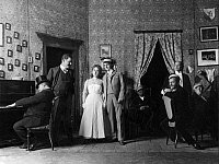 0215928 © Granger - Historical Picture ArchivePLAY 'ALT HEIDELBERG' BY PLAYWRIGHT MEYER FOERSTER.   scene from the play 'Alt-Heidelberg' by playwright Meyer-Foerster, world premiere at the theater 'Berliner Theater', November 1901, ullstein bild ID 00292255.