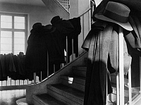 0218171 © Granger - Historical Picture ArchiveCULTURE.   German Empire - Baden Grossherzogtum (Grand Duchy) (-1918) - Freiburg Overcrowded universites. Hats and coats on stairrails at the university of Freiburg. - Photographer: Minnie Sandor - 1933 Vintage property of ullstein bild.