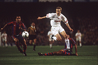 0219909 © Granger - Historical Picture ArchiveSOCCER.   FC Barcelona - FC Bayern Muenchen 1:2.