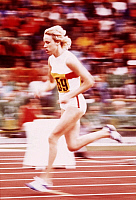 0222227 © Granger - Historical Picture ArchiveSPORTS.   Hildegard Falck - athlete, 800 m, 1972 Summer Olympics, Munich, Germany - 03.09.1972.