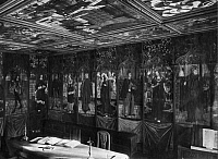 0223758 © Granger - Historical Picture ArchiveRELIGION.   German Empire - Wuerttemberg Koenigreich (Kingdom) (-1918): Maulbronn Abbey, Cistercian monastery, room with delicate wall paintings - undated Vintage property of ullstein bild.