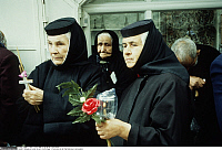 0223808 © Granger - Historical Picture ArchiveRELIGION.   Israel, Jerusalem, Via Dolorosa: Nuns belonging to the greek orthodox community during the Good Friday procession. 12.04.1996.