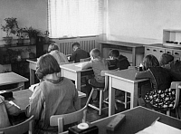 0224156 © Granger - Historical Picture ArchiveEDUCATION.   Germany, children's home in Berlin Wiessensee. Picture taken by Frankl 1929.