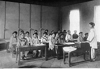 0224184 © Granger - Historical Picture ArchiveEDUCATION.   : Formosa/Taiwan - school for chinese girls in Taihoku (photographer: Franz-Otto-Koch undated, but definitely in the years 1910-14).