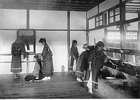0224380 © Granger - Historical Picture ArchiveEDUCATION.   : Formosa/Taiwan - school for chinese girls in Taihoku (photographer: Franz-Otto-Koch undated, but definitely in the years 1910-14).