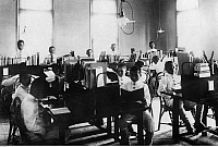 0224433 © Granger - Historical Picture ArchiveEDUCATION.   : Formosa/Taiwan: in view of school class, date unknown.