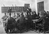 0224442 © Granger - Historical Picture ArchiveEDUCATION.   : Formosa/Taiwan - Formosachinese get teached in japanese language (photographer: Franz-Otto-Koch undated, but definitely in the years 1910-14).