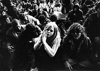 0226221 © Granger - Historical Picture ArchivePEOPLE.   Pop festival at the isle Fehmarn: - audience - 1971 Festival Rockfestival open air.