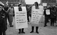 0227947 © Granger - Historical Picture ArchivePEOPLE.   ' German Democratic Republic Bezirk Berlin (Ost-Berlin) East Berlin - Demonstration against the communist regime of the SED, for freedom of press and opinion, free elections and democracy; slogans against the state security - 04.11.1989 '.