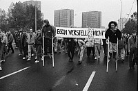 0228267 © Granger - Historical Picture ArchivePEOPLE.   German Democratic Republic Bezirk Berlin (Ost-Berlin) East Berlin - Demonstration against the communist regime of the SED, for freedom of press and opinion, free elections and democracy - 04.11.1989.