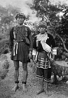 0231742 © Granger - Historical Picture ArchivePEOPLE.   : Formosa/Taiwan: native couple, date unknown.
