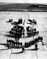 0234499 © Granger - Historical Picture ArchiveMILITARY.   Germany, German Federal Armed Forces, Air Force, Lockheed F 104 Starfighter with pilot and service team - 1968 - 1968.